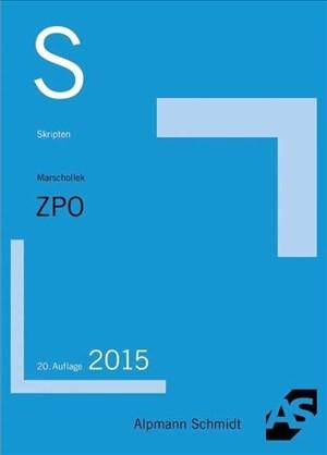 Skript ZPO: Überblick über das FamFG   Cover