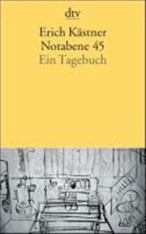 Notabene 45: Ein Tagebuch   Cover