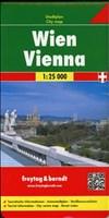 Wien Gesamtplan, Stadtplan 1: 25.000, freytag & berndt Stadtpläne