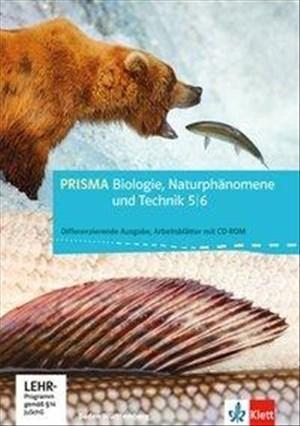 PRISMA Biologie / Baden-Württemberg - Differenzierende Ausgabe: PRISMA Biologie / Arbeitsblätter Biologie, Naturphänomene und Technik 5./6. Schuljahr: Baden-Württemberg - Differenzierende Ausgabe | Cover
