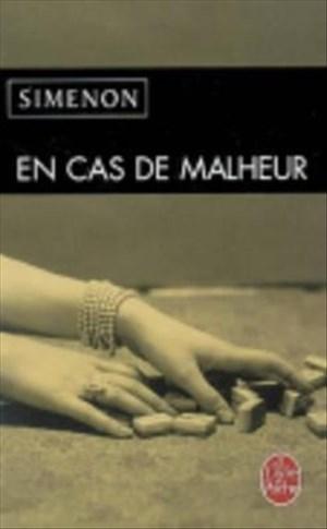 En Cas de Malheur (Ldp Simenon) | Cover
