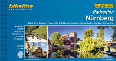 Nürnberg, Radatlas: 1:75000. Fränkische Schweiz, Frankenalb, Fränkisches Seenland, Romantisches Franken, Aischgrund, wetterfest/reißfest