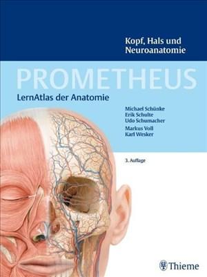 PROMETHEUS Kopf, Hals und Neuroanatomie: LernAtlas Anatomie   Cover