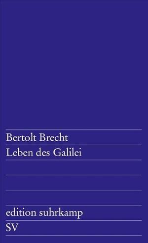 Leben des Galilei: Schauspiel | Cover