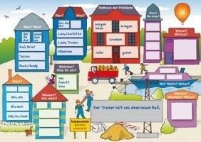 Die Satzbaustelle: Satzbau anschaulich - mit Poster und differenzierten Arbeitsblättern