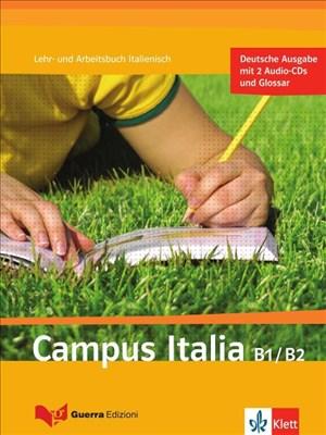 Campus Italia B1/B2: Lehr- und Arbeitsbuch + 2 Audio-CDs | Cover