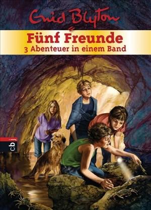 Fünf Freunde - 3 Abenteuer in einem Band: Sammelband 4: Fünf Freunde und der Spuk um Mitternacht / Fünf Freunde suchen den Piratenschatz / Fünf ... (Doppel- und Sammelbände, Band 4)   Cover