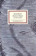 Buckower Elegien. Gedichte im Exil. (Insel-Bücherei)