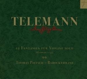 12 Fantasien Für Violine Solo Twv 40:14-25 | Cover