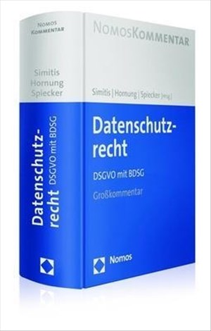 Datenschutzrecht: DSGVO mit BDSG | Cover